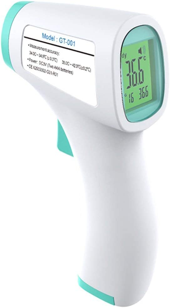D/étecteur de temp/érature infrarouge pour le corps humain D/étecteur /électronique de thermom/ètre num/érique infrarouge avant