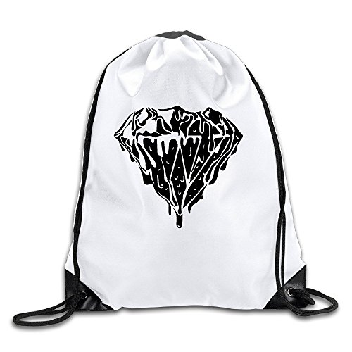 FOODE Shine On You Crazy Diamond Drawstring Backpack Sack - Oakley Bit Drill