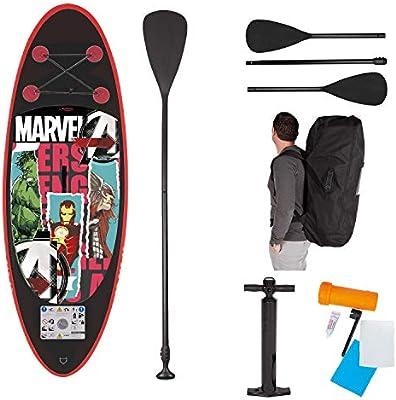 John Marvel Avengers Ironman Hulk Thor Juego de Tabla de Surf para ...