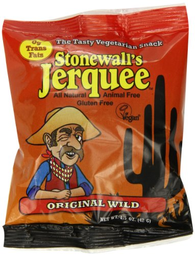 Stonewall's Jerquee, Original Wild, 1.5-Ounce Packets (Pack of 16)