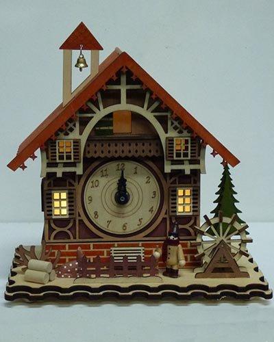 other light up musical christmas clock - Musical Christmas Clock