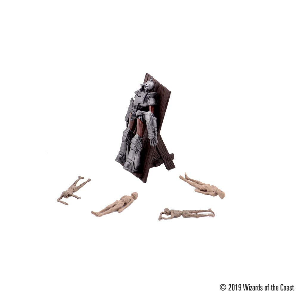 WizKids D&D Icons of The Realms: Waterdeep: Dungeon of The Mad Mage - Halasters Lab Premium Set