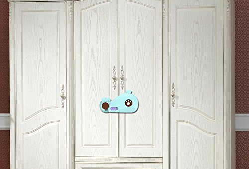 4 Pcs Safety Baby Proofing Cabinets Locks Without Drilling ...