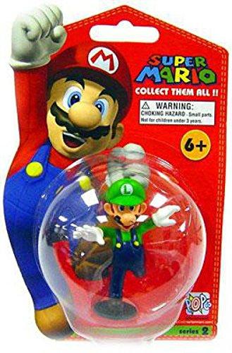 Super Mario Brothers Master Replicas 3 Inch PVC Figure Series 2 Luigi