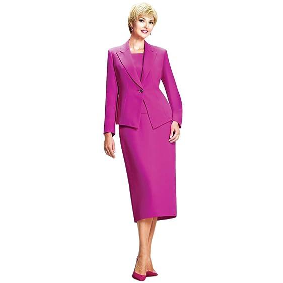 Amazon Com Moshita Couture Women S Business Skirt Suit 6343 28