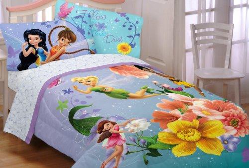 Disney Fairies Fantasy Floral Full Sheet Set