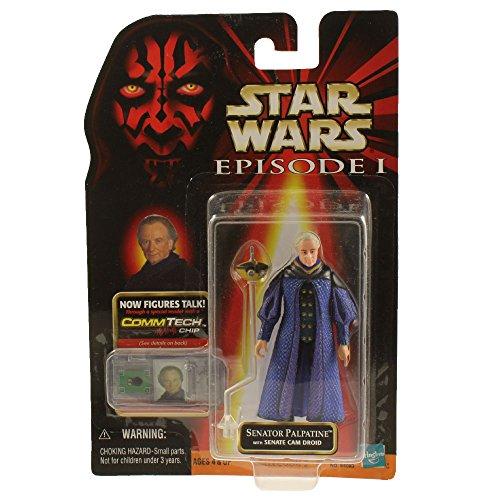 - Star Wars, Episode I: The Phantom Menace, Senator Palpatine Action Figure, 3.75 Inches