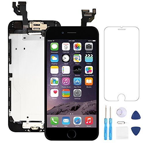 Cheap Replacement Parts Screen Replacement for iphone 6 Black 4.7