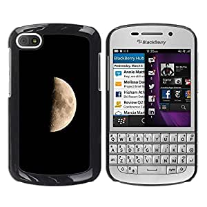Be Good Phone Accessory // Dura Cáscara cubierta Protectora Caso Carcasa Funda de Protección para BlackBerry Q10 // Space Planet Galaxy Stars 43