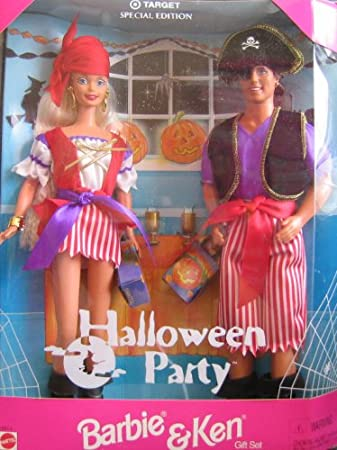 Amazon Target Special Edition Halloween Party Barbie And Ken Toys Games