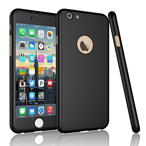 Tempered Glass Screen Protector for Apple iPhone 6 Plus 6s Plus Set of 2 - 5
