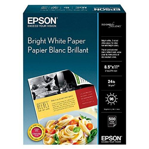 "Epson Bright White Pro Paper - S041586-4, 8.5"" x 11"" (500 sheets)"