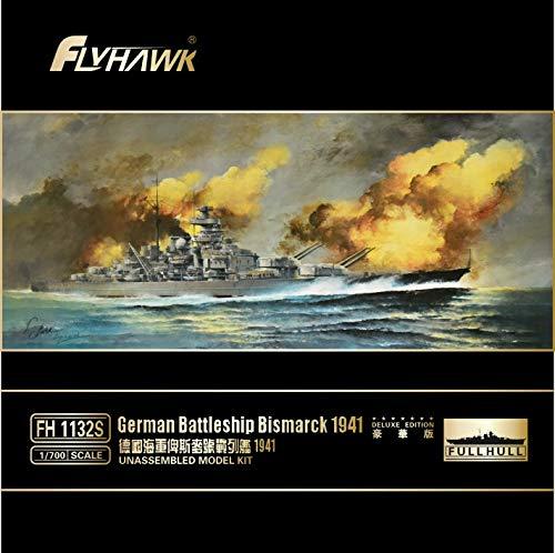 フライホークモデル 1/700 独海軍 戦艦 ビスマルク 1941 スペシャルキット プラモデル