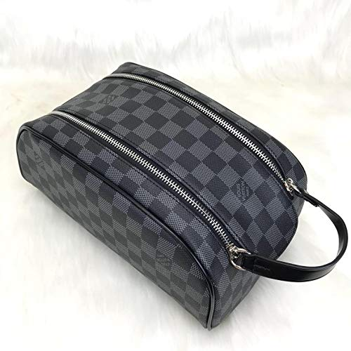 9a932319 Amazon.com: Louis Vuitton Black Damier Graphite Leather King ...