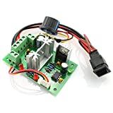 DZS Elec DC 6V-30V 6A 200W Motor Speed Controller Adjustable Reversible Control Switch PWM Speed Voltage Regulator Module 6V/12V/24V/30V