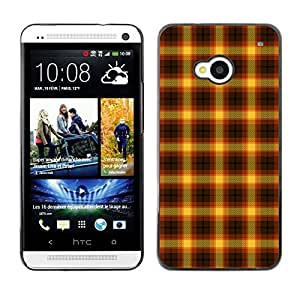 ZECASE Funda Carcasa Tapa Case Cover Para HTC One M7 No.0003135
