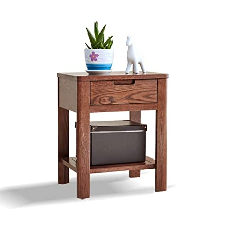 Amazoncom Ddss Bedside Tablewith Drawer And Partition