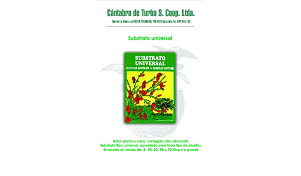 Cantabra De Turba S. Coop - Tierra vegetal (bolsa 20l): Amazon.es: Bricolaje y herramientas