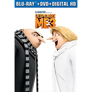 Despicable Me 3 (Blu-ray + DVD + Digital HD)