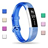 Fundro Compatible with Fitbit Alta HR Bands, Newest Sport Replacement Wristbands Secure Metal Buckle Fitbit Alta HR/Fitbit Alta