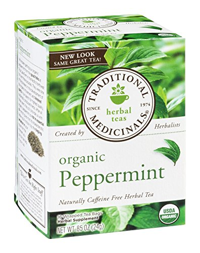 (Traditional Medicinals Herbal Tea Organic Peppermint - 16 Tea Bags)