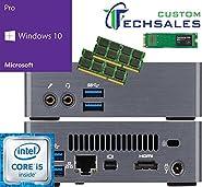 Gigabyte BRIX Ultra Compact Mini PC (Skylake) BSi5-6200 i5 500GB SSD, 4GB RAM, Windows 10 Pro Installed & Configured