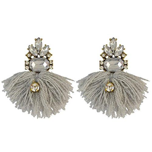 Earrings Zircon Crystal Dangle Earring