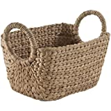 Compactor Home Storage Medium Water Hyacinth Caracas Basket, Brown by Compactor Home Storage