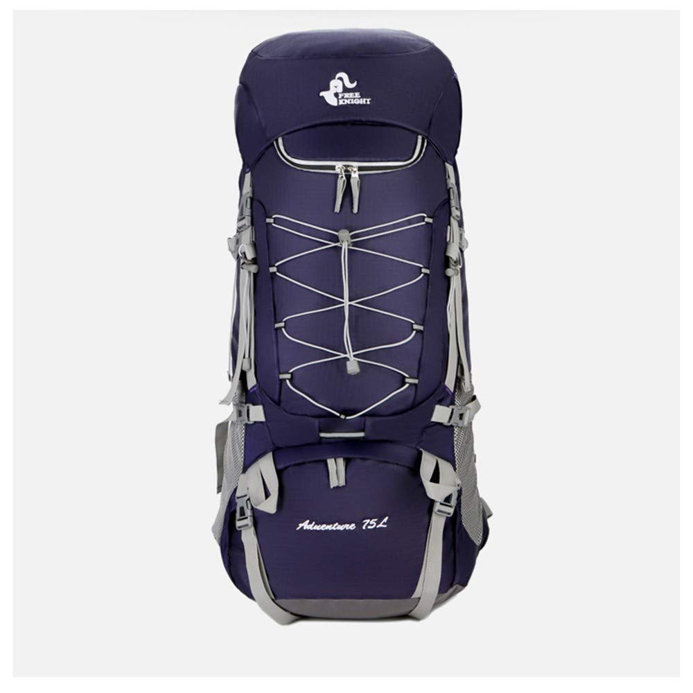 violet  HUWAI-F Sac à Dos de Trekking 75L - Sac à Dos de Voyages Sac à Dos pour sac à doser Sac à Dos extérieur Sac à Dos randonnée Sac à Dos imperméable avec Housse de Pluie
