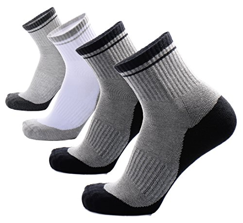 Ankle Socks,Mens Ankle Socks,Thick Socks,Cushioned Runnin...