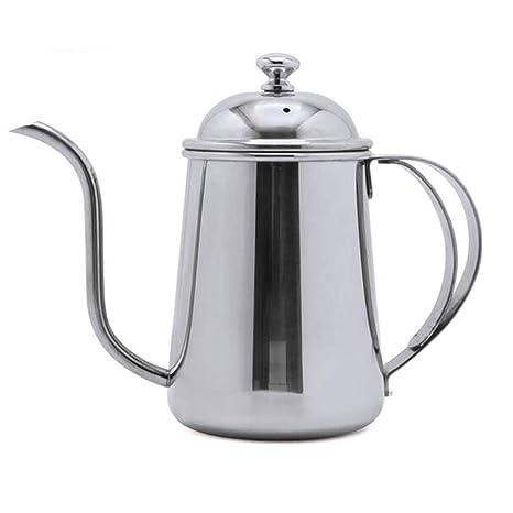 Amazon.com: Cafetera de acero inoxidable 304 con cuello de ...