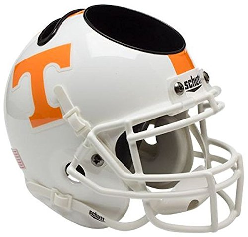 Schutt NCAA Tennessee Volunteers Authentic Mini Football Helmet Desk Caddy