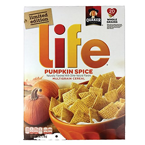 Quaker Pumpkin Spice Life Cereal Limited Edition, 13 - Punkin Pie