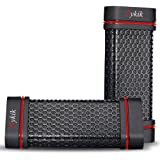 Sykik Box Portable Outdoor Sports Water Resistant, Weather proof, Shock proof, Dust proof, Rugged High power Wireless Bluetooth Speaker with Rechargeable Battery and built in Microphone for Hands-free calling (Red)