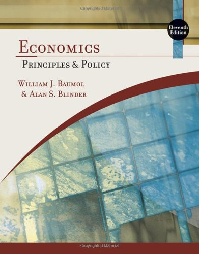 Economics: Principles and Policy (Available Titles Aplia)