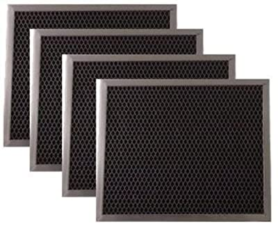 Broan Range Hood Charcoal Filter 97007696 6105C 4-pack""