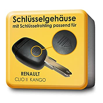 Carcasa de repuesto para llave de 1 botón - Renault Clio II ...