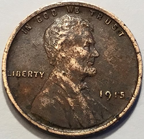 1915 Lincoln Wheat Cent Penny Very Fine