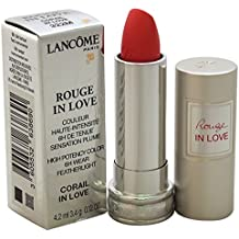 Lancome Rouge In Love High Potency Color Lipstick, # 322M Corail In Love, 0.12 Ounce