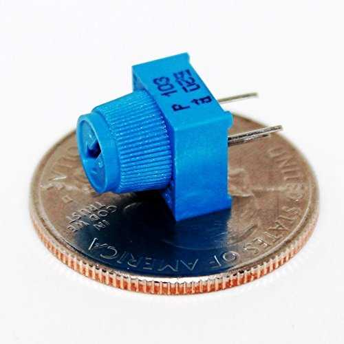 DIKAVS 10PCS Breadboard Trim Potentiometer With Knob 10K for Arduino