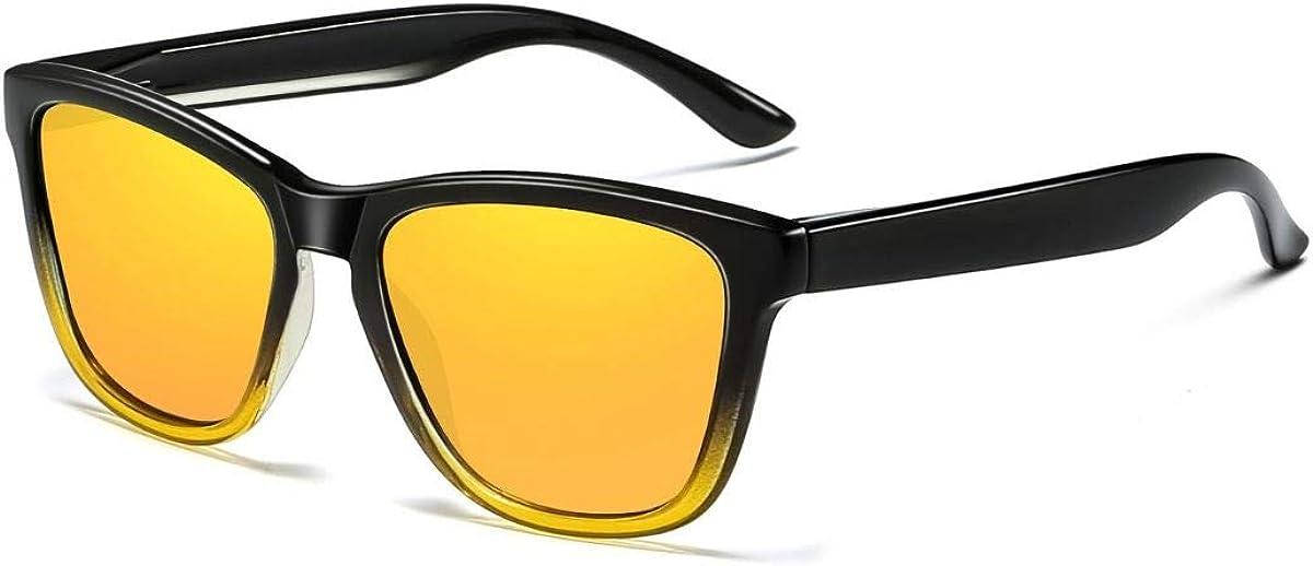 Skevic Gafas de Sol Polarizadas Hombre Mujer - Gafas para Ciclismo, Running, Deporte, Pesca, Conducir, MTB, Esquí, Golf, Bicicleta etc. Gafas de Sol Mujer, Gafas de Sol Hombre Protección 100% UV400