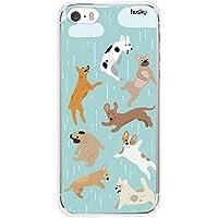 Capa Personalizada Chuva de Dog, Husky para iPhone SE / 5 / 5S, Capa Protetora para Celular, Colorido