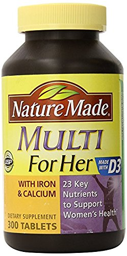 The Best Nature Made Multivitamens