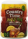 Country Time Flavored Drink Mix, Half Lemonade Half Iced Tea, 19 Ounce Container (Pack of 12)