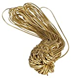 """10"""" Gold Stretch Loops for Candy/Jewlery Boxes - 50 count"""