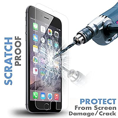 Iron Shield iPhone 6 Crystal Clear HD Display PREMIUM QUALITY Tempered Glass Screen Protector Invisible Protective Glass for iPhone 6 - S01 from Iron Shield