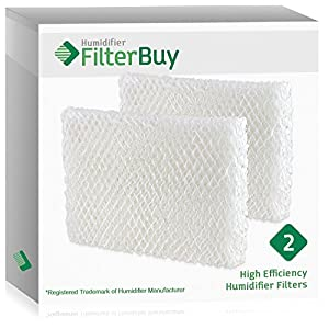 2 - FilterBuy Humidifier Wick Replacement Filters for Lasko Humidifiers. Compare to Lasko Part # THF 8, THF-8, THF8.