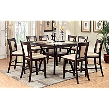 Amazon Com Coaster Home Furnishings 9 Piece Counter