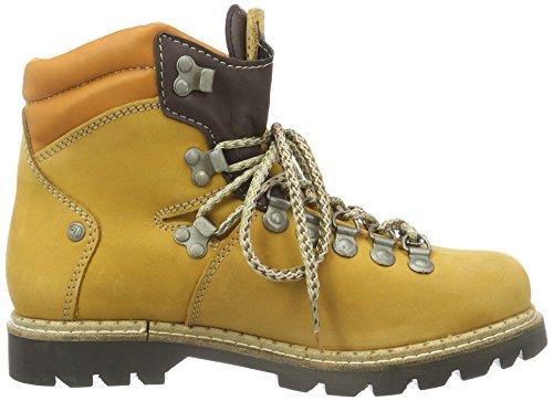 Dockers by Gerli Damen 39wy201-300910 Combat Boots Gelb (GOLDEN Tan 910)