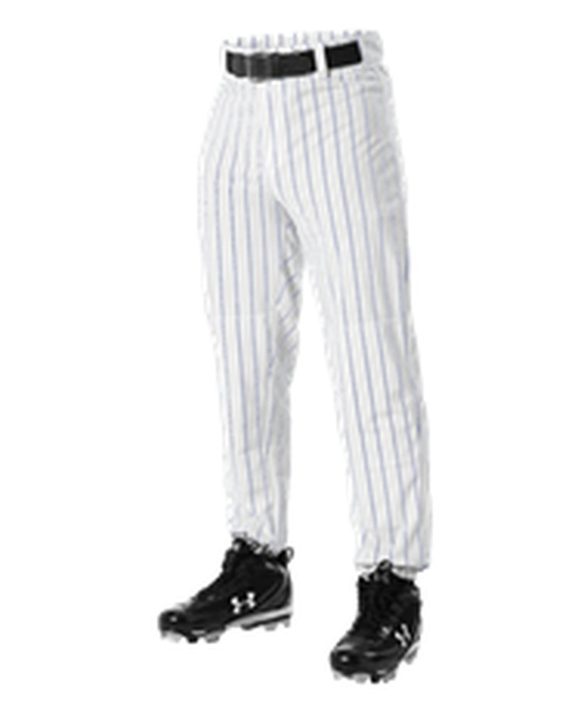 Alleson Athletic PANTS ボーイズ B071GT55VG 2X|White, Royal White, Royal 2X